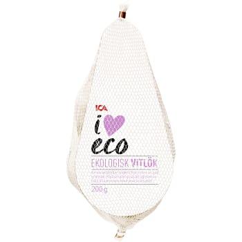 Vitlök Ekologisk 200g Klass 1 ICA I love eco