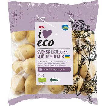 Mjölig potatis 2kg KRAV ICA I love eco