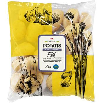 Fast potatis 2kg Klass 1 ICA