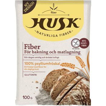 Fiberhusk Glutenfri 100g Lindroos