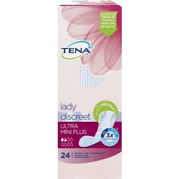 Lady Ultra mini plus Inkontinensskydd 24-p Tena lady