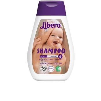 Barnschampo Oparfymerad 200ml Miljömärk Libero