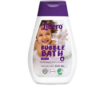 Bubbelbad Oparfymerad Barntvål 200ml Miljömärkt Libero