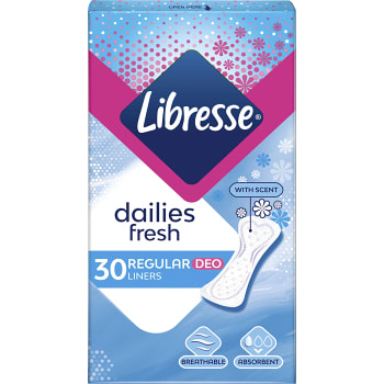 Trosskydd Daily Fresh Normal 30st Libresse