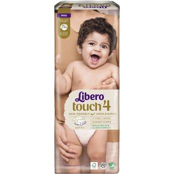 Blöjor Touch Strl 4 7-11kg Miljömärkt 46-p Libero