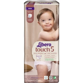 Byxblöjor Touch Strl 5 10-14kg 34-p Miljömärkt Libero