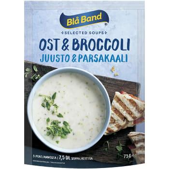 Ost & Broccolisoppa 7,5dl Blå band