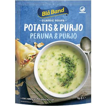 potatis och purjolökssoppa ica
