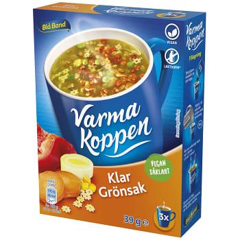 Klar grönsaksoppa 3 port 6dl Varma Koppen
