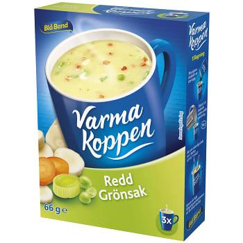 Redd grönsakssoppa 3 port 6dl Varma Koppen