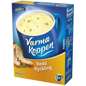 Redd Kycklingsoppa 3 portioner 6dl Varma Koppen