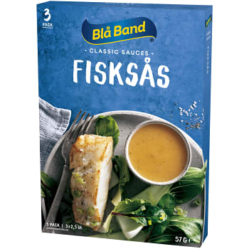 Fisksås Klassisk 2,5dl 3-p Blå Band