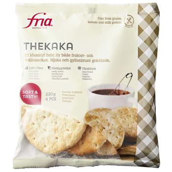 Thekaka Glutenfri Fryst 220g Fria