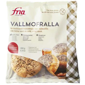 Vallmofralla Glutenfri Fryst 280g Fria