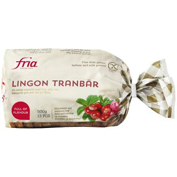 G.fri Ling/tranb bröd 500g Fria