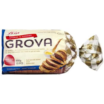 Bröd Grova Glutenfri Fryst 500g Fria