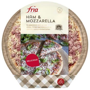 Pizza Skinka Mozarella Gluten & Laktosfri 420g Fria
