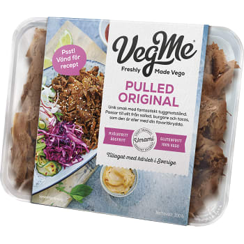Vegetarisk Pulled Naturell 300g Vegme