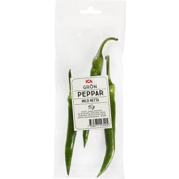 Grön peppar 40g Klass 1 ICA