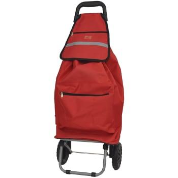 Dramaten shoppingvagn Röd 64l Cavalet