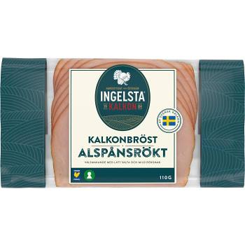 Kalkonbröst Alspånrökt 110g Ingelsta Kalkon