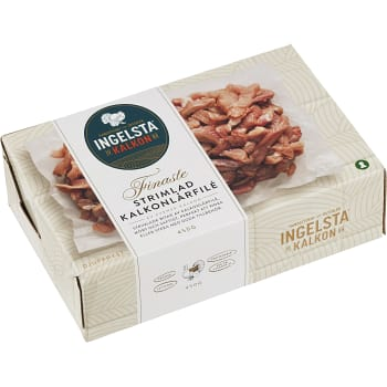 Kalkonlårfilé strimlad fryst 450g Ingelsta Kalkon
