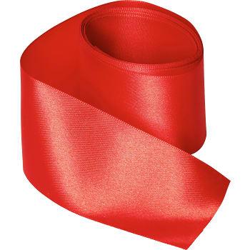 Satinband Röd 50mmx2,5m