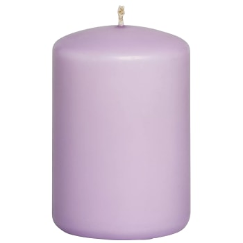 Kanon Handla Blockljus Lavendel 7x10cm ICA Home online från din lokala YB-57