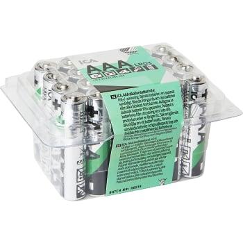 Batteri AAA PET-box 24-p ICA Home