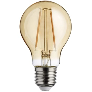 LED filament dekorationslampa normal 1,7W E27 100lm Guld ICA Home