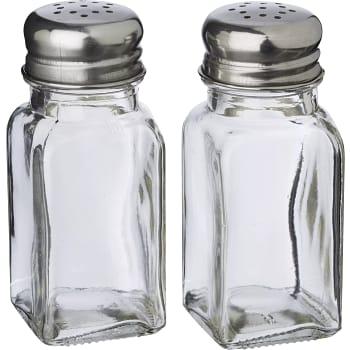 Salt- och pepparkar Glas 9,5cm ICA Cook & Eat