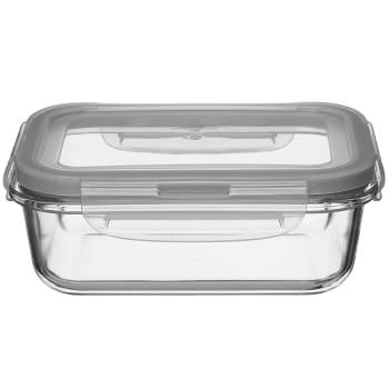 Förvaringsburk Glas med lock 0,67l ICA Cook & Eat