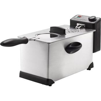 Fritös 3L Rostfritt stål ICA Cook & Eat