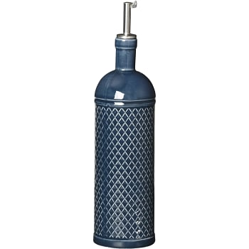 Flaska Olja/Vinäger Blå 7,5x24cm ICA