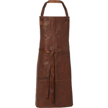 Förkläde Antique Läder Brun ICA Selection