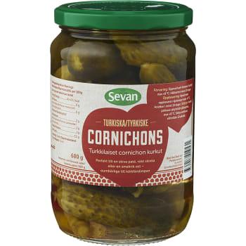 Cornichons 680g Sevan