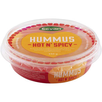Hummus Hot & spicy 150g Sevan