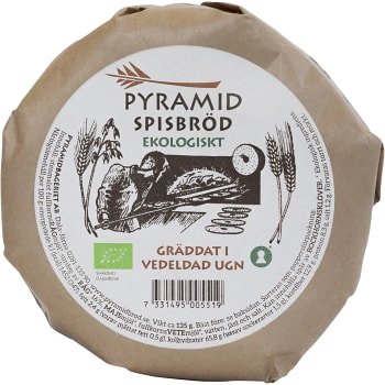 Spisbröd små Ekologisk 135g Pyramidbageriet
