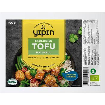 Tofu Naturell Ekologisk 400g YiPin