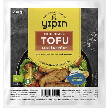 Tofu Rökt Ekologisk 230g YiPin