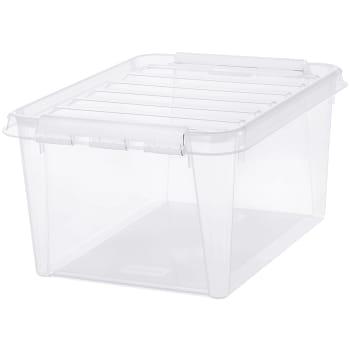 Förvaringsbox Transparent 31l SmartStore