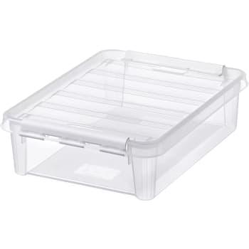 Förvaringsbox Transparent 12x30x40cm SmartStore