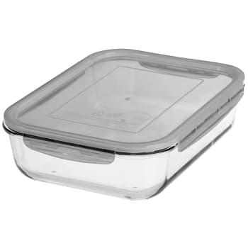 Matförvaring glas 2,7l 1-p Gastromax