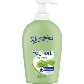 Yoghurt & aloe vera Flytande handtvål 250ml Barnängen