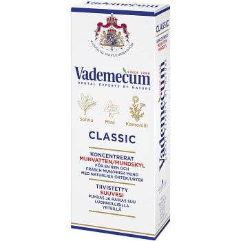 Munskölj Classic Koncentrat 75ml Vademecum