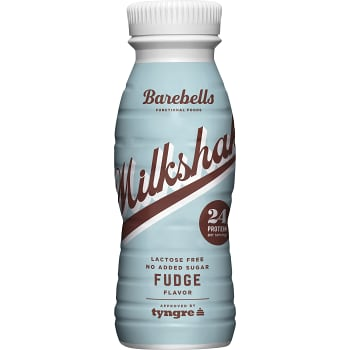 Proteindryck Milkshake Fudge Laktosfri 330ml Barebells