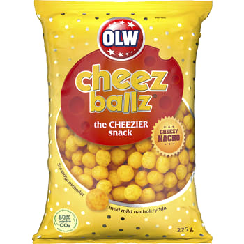 Cheese Ballz 225g Olw