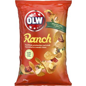 Ranch Potatischips 275g OLW