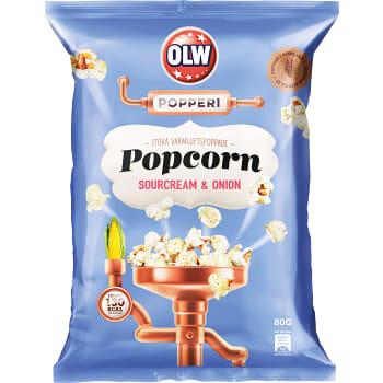 Popcorn Sourcream & onion 80g OLW