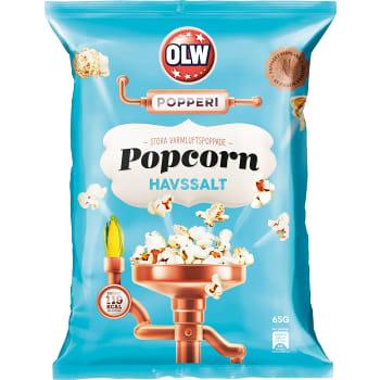 Popcorn Havssalt 65g OLW